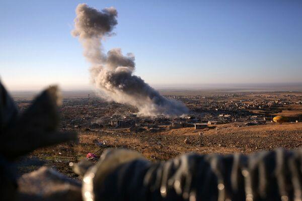 Útok kurdské armády na bojovníky IS - Sputnik Česká republika