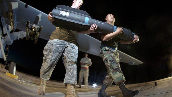 Americká střela AGM-114  Hellfire - Sputnik Česká republika