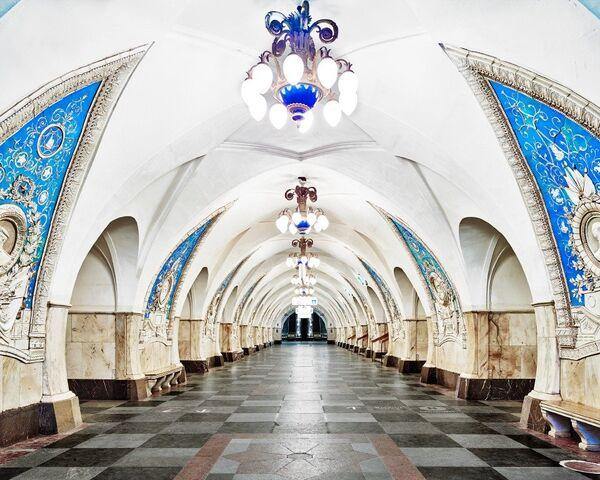 U-Bahn-Station Taganskaja - Sputnik Česká republika