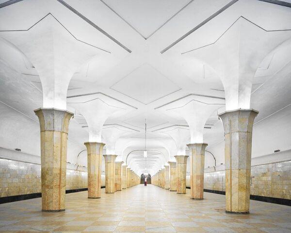 U-Bahn-Station Kropotkinskaja - Sputnik Česká republika