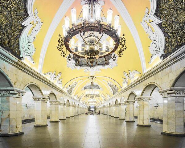 U-Bahn-Station Komsomolskaja - Sputnik Česká republika