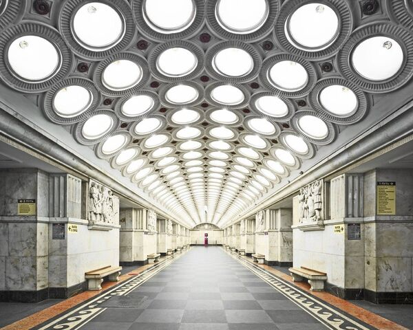 U-Bahn-Station Elektrosawodskaja - Sputnik Česká republika