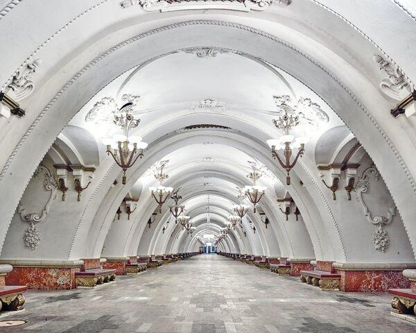 U-Bahn-Station Arbatskaja - Sputnik Česká republika
