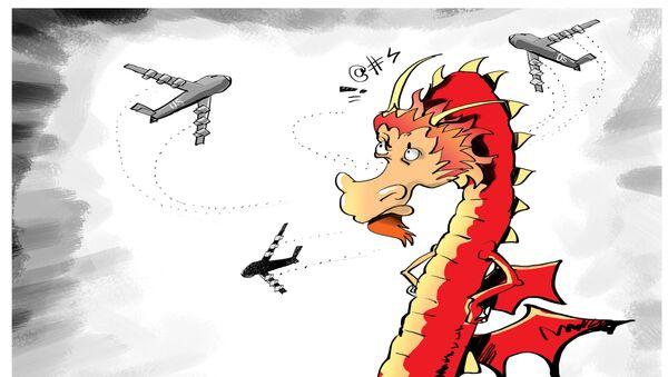 Americké bombardéry nad Jihočínským mořem: výzva Číně? - Sputnik Česká republika