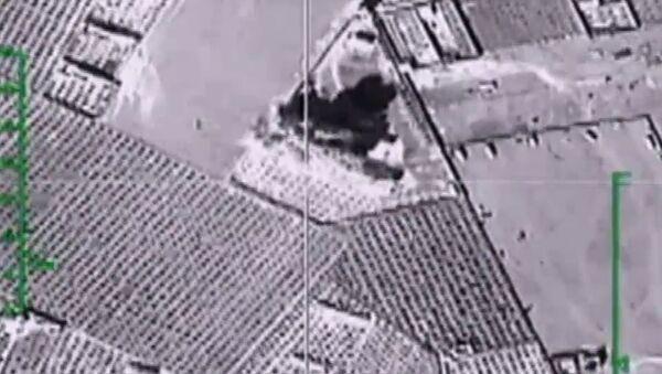 Údery ruského letectva v Sýrii - Sputnik Česká republika