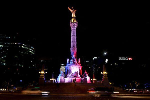 Anděl nezávislosti v Ciudad de México - Sputnik Česká republika