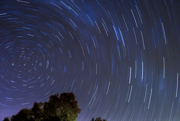 Pohyb hvězd na obloze - Sputnik Česká republika