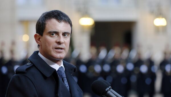 Manuel Valls - Sputnik Česká republika