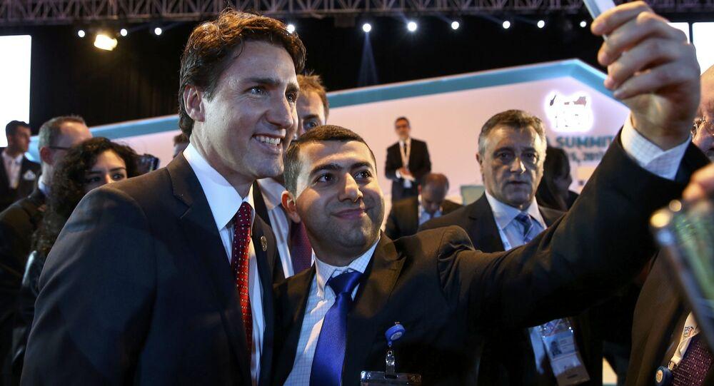 Předseda kanadské vlády Justin Trudeau