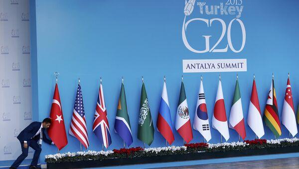 Vlajky zemí G20 - Sputnik Česká republika