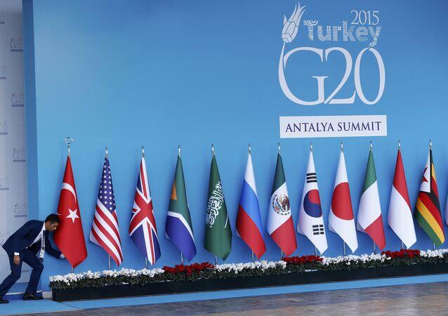 Vlajky zemí G20
