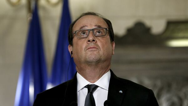 Prezident Francie Francois Hollande - Sputnik Česká republika