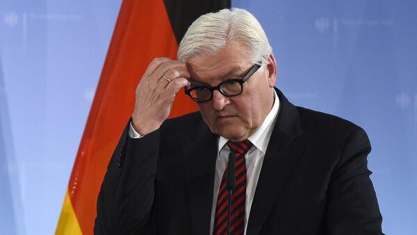 Ministr zahraničí Německa Frank-Walter Steinmeier - Sputnik Česká republika