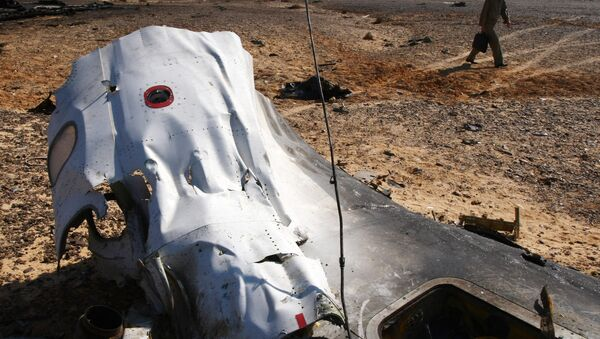 Místo havárie Airbusu A321 - Sputnik Česká republika