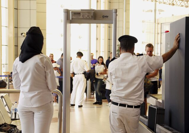 Bezpečnostní kontrola na letišti