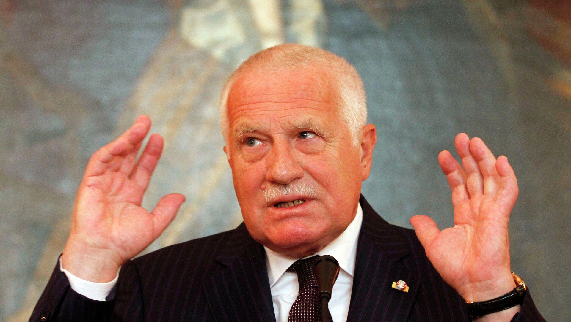 Bývalý český prezident Václav Klaus - Sputnik Česká republika, 1920, 12.03.2021
