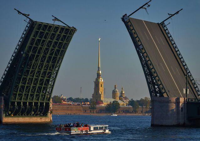Historické centrum Petrohradu