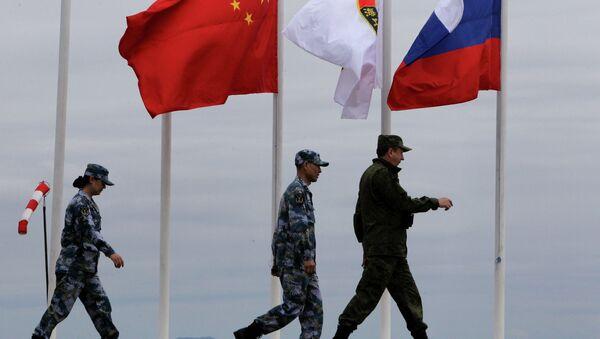 Rusko-čínská cvičení - Sputnik Česká republika