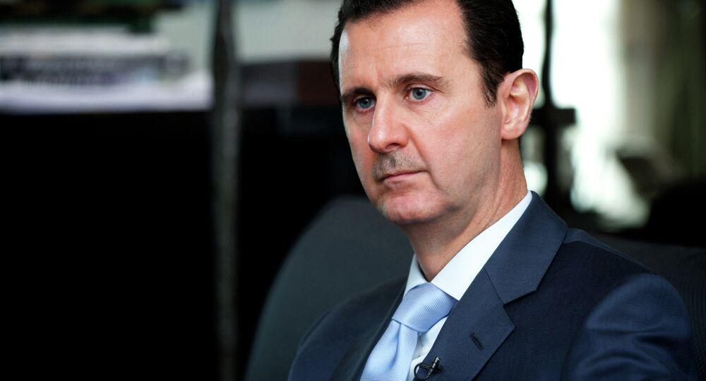 Syrský prezident Bašar Asad