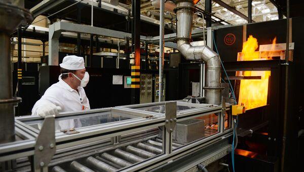 Výroba jaderného paliva - Sputnik Česká republika
