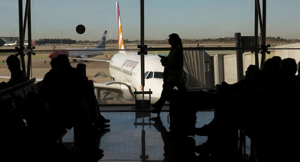 Letiště v Barceloně