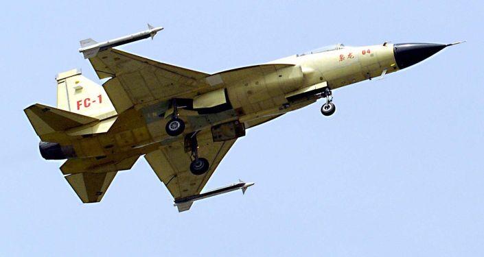 Čínsko-pákistánský nadzvukový lehký víceúčelový bojový letoun CAC FC-1 Xiaolong