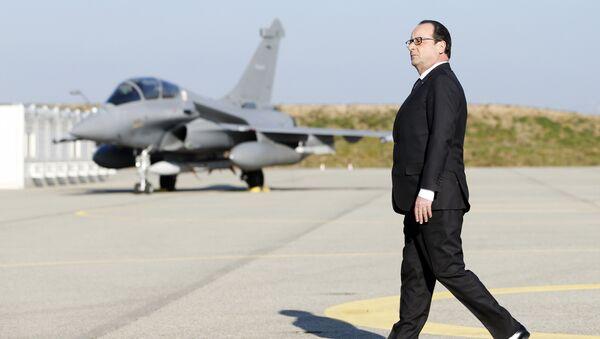 François Hollande - Sputnik Česká republika