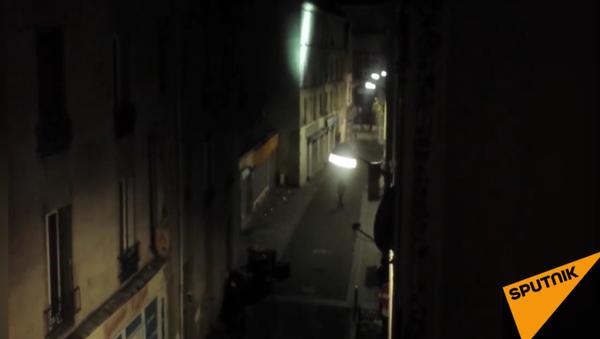 Exkluzivní video: Antiteroristická operace francouzské policie v Saint-Denis - Sputnik Česká republika