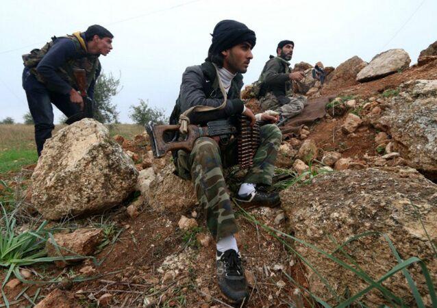 Příslušníci Fronty an-Nusrá