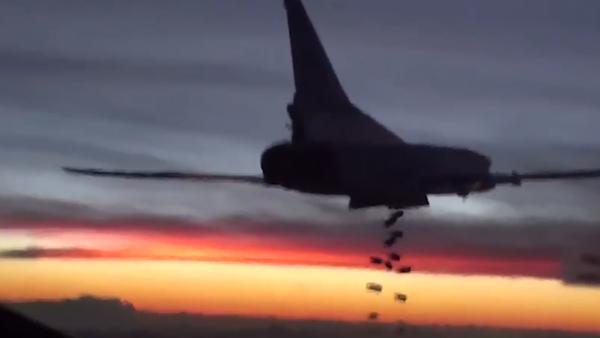 Ruské dálkové letectvo v syrském nebi. Nové záběry - Sputnik Česká republika