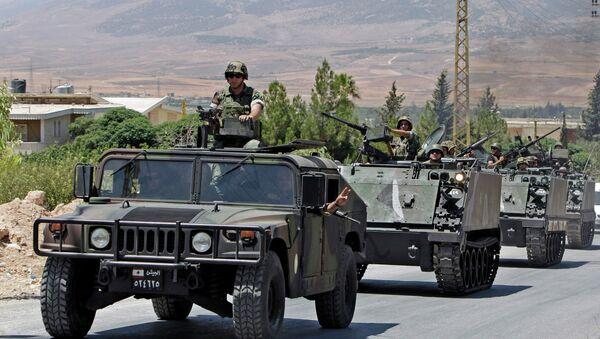 Libanonští vojáci - Sputnik Česká republika
