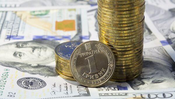 Dolar a hřivna - Sputnik Česká republika