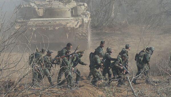 Vojáci syrské armády - Sputnik Česká republika