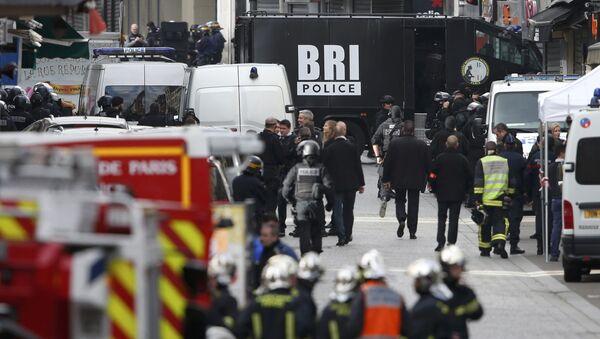 Policejní operace ve Francii - Sputnik Česká republika