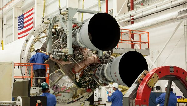 Raketové motory RD-181 - Sputnik Česká republika