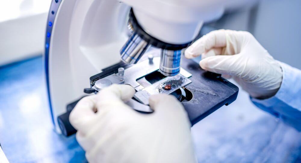 Vědec v laboratoře