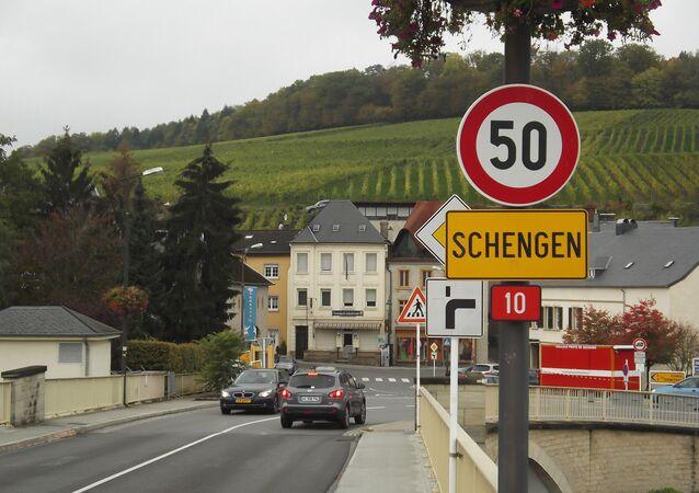 Značka Schengenu