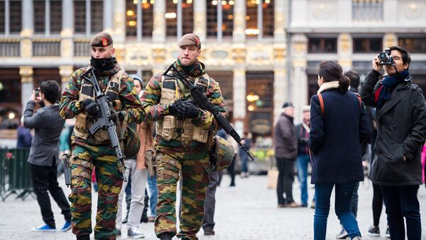 Belgičtí vojáci - Sputnik Česká republika