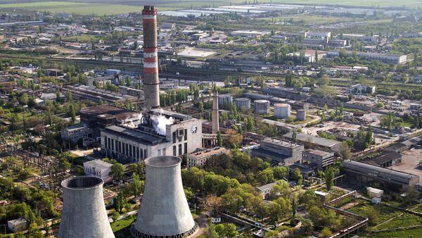 Tepelná elektrárna v Simferopolu - Sputnik Česká republika