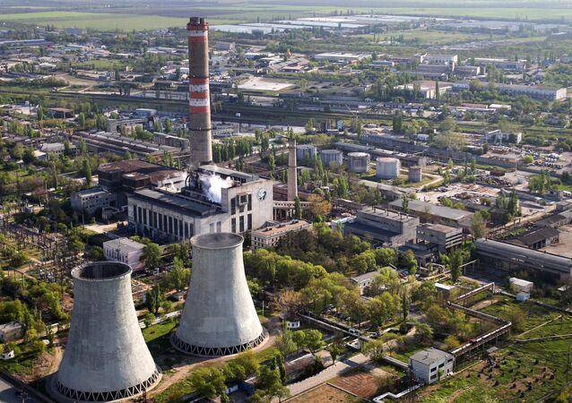 Tepelná elektrárna v Simferopolu