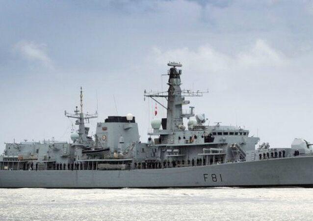 Britská válečná loď Sutherland