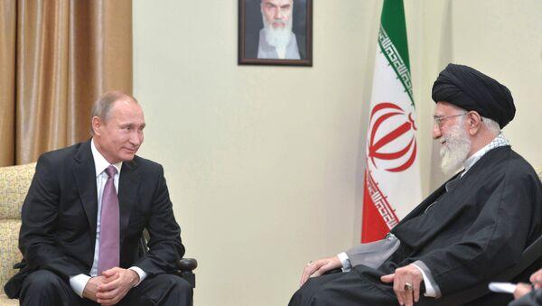 Putinův rozhovor s Chameneím trval déle, než se plánovalo – Kreml - Sputnik Česká republika