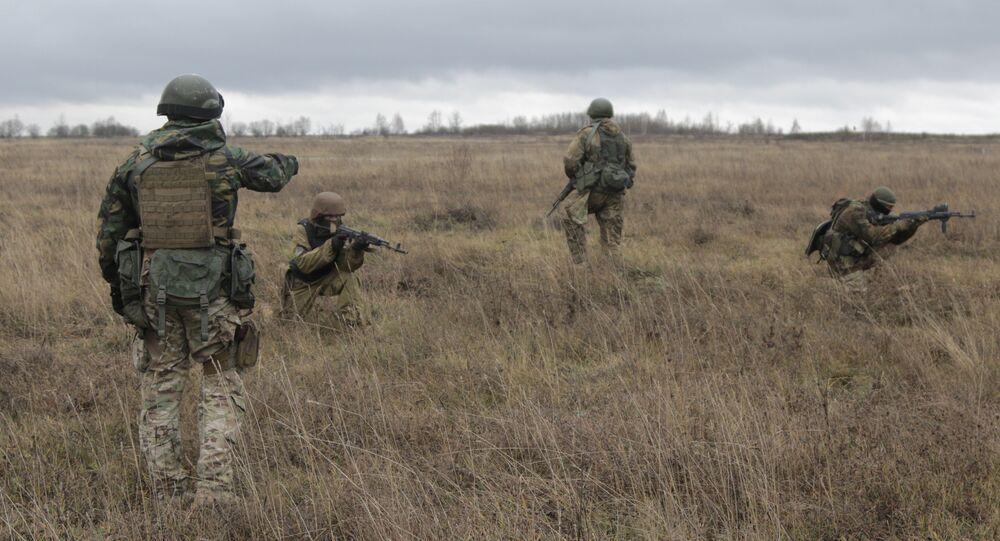 Americký instruktor na Ukrajině