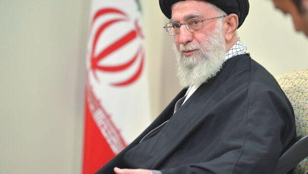 Nejvyšší představitel Íránu Ali Chamenei - Sputnik Česká republika