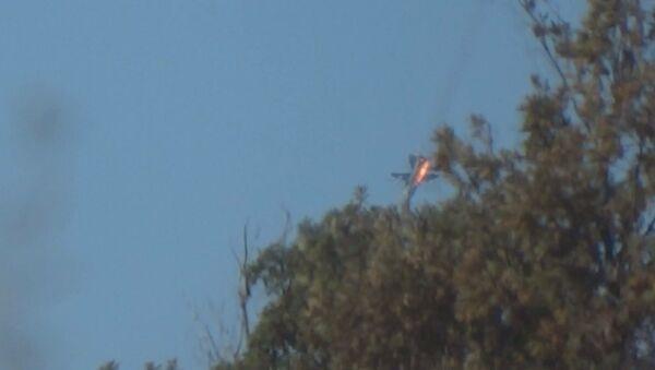 Havárie Su-24 - Sputnik Česká republika