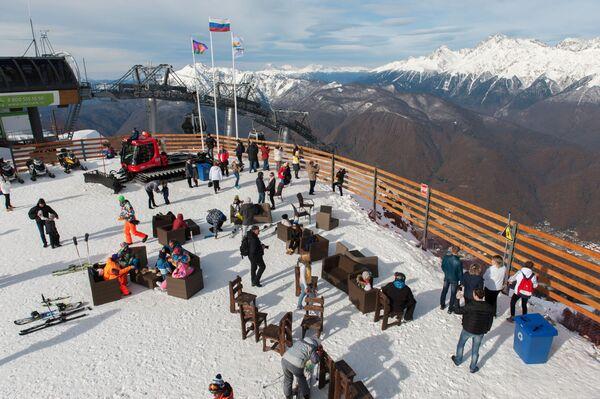 Lyžařská sezóna byla zahájena v Soči - Sputnik Česká republika