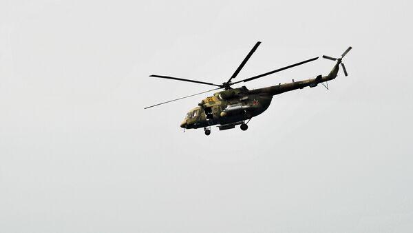 Mi-8 v Sýrii - Sputnik Česká republika