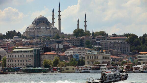 Pohled na Istanbul - Sputnik Česká republika