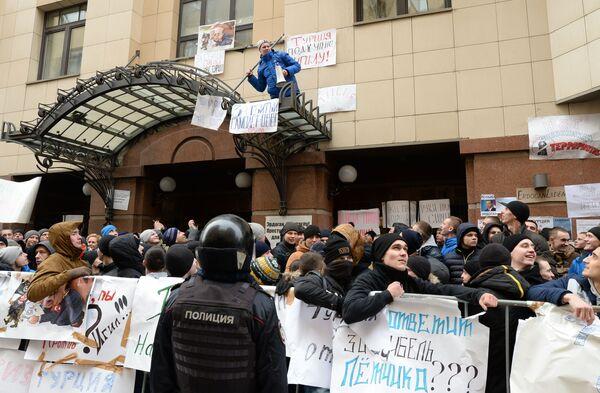 Moskva protestuje proti akcím Turecka - Sputnik Česká republika