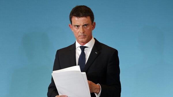 Francouzský ministerský předseda Manuel Valls - Sputnik Česká republika